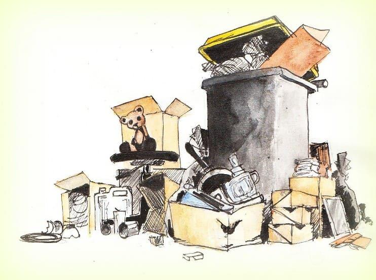 Camping éco-responsable dessin par Vincent Lebocey
