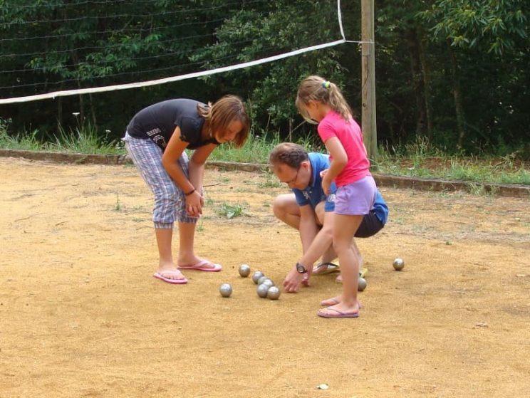 Terrain multisports - jeu de boules - petanque