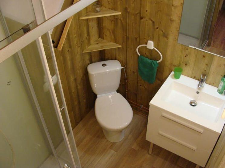 Lodge Canada Confort salle de bains
