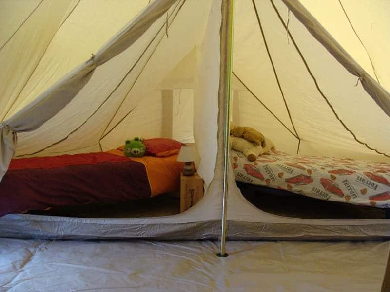 Tente Sahara Famille chambres enfants