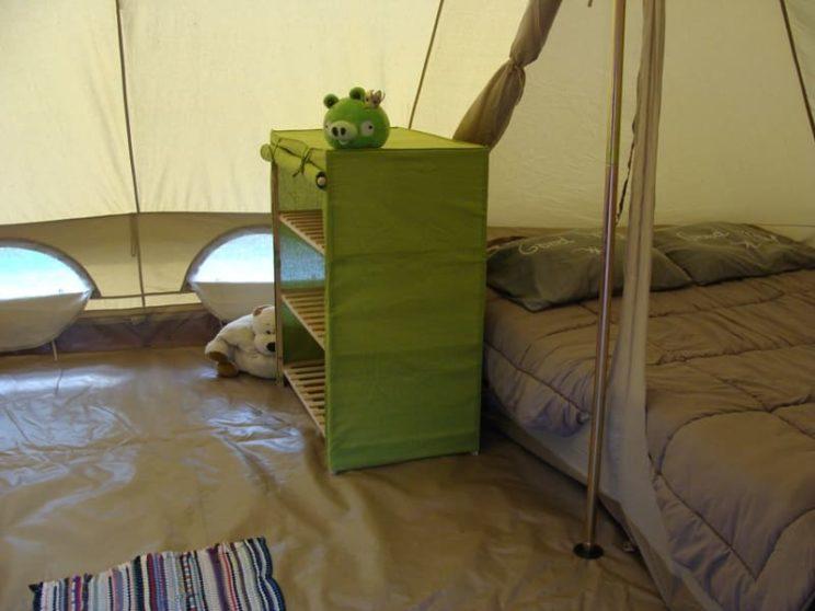 Tente Sahara Famille Séjour