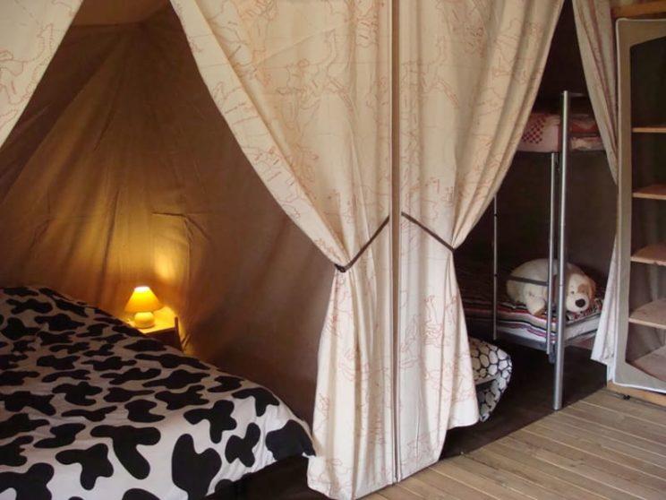 Tente Lodge Canada Classic - chambres