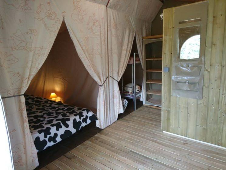 Tente Lodge Canada Confort chambres