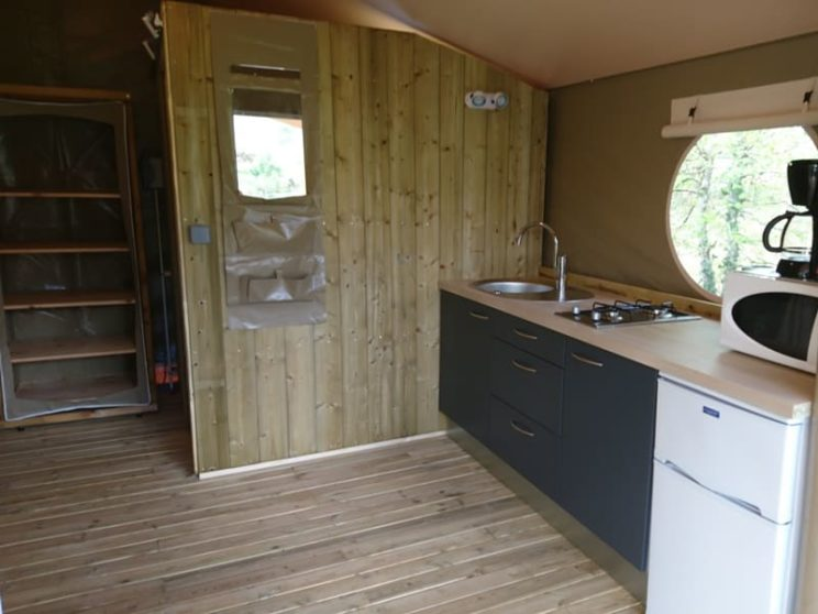 Tente Lodge Canada Confort séjour