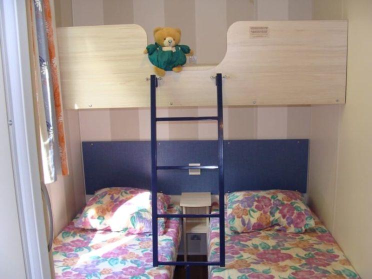 Mobil home Titania chambre enfants