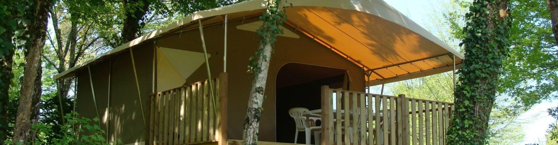 Location tentes Lodge Canada