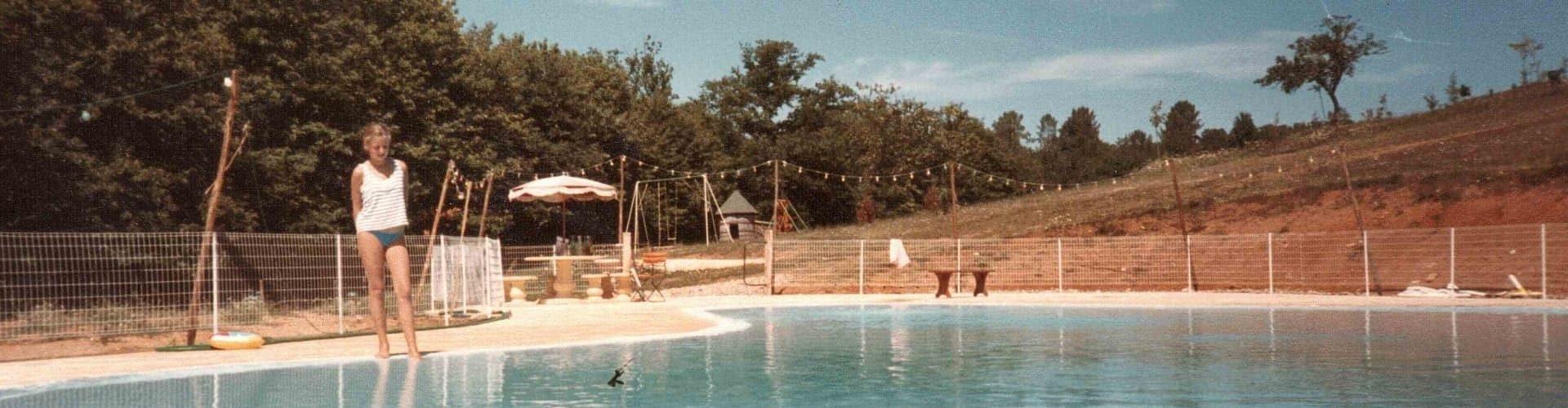 Histoire du camping - Piscine