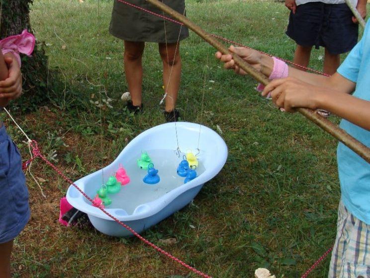 Jeux traditionnels - Pêche aux canards
