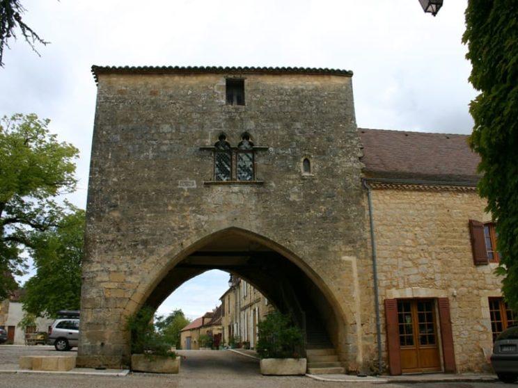 Molières - Porche - Maison du Bailli