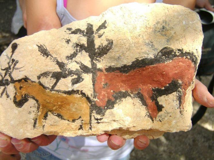 Ateliers préhistoire pour les enfants