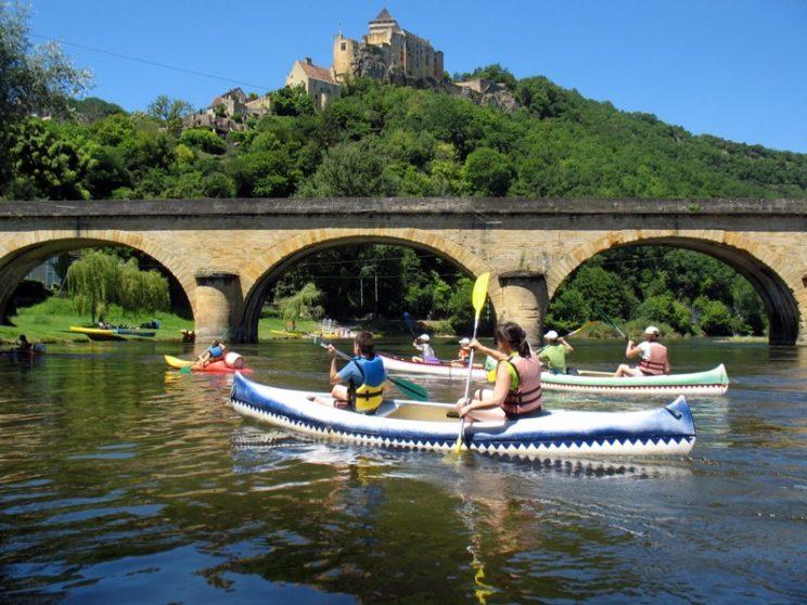 Canoê sur la Dordogne