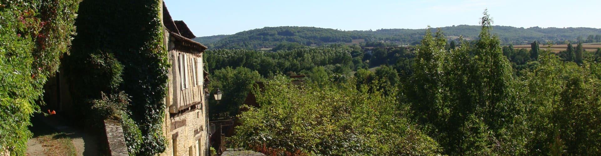 La Dordogne - confluent Vézère à Limeuil